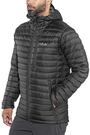 Rab Microlight Alpine Long Jacket Men black Size S 2018 winter jacket af2ddaa53c