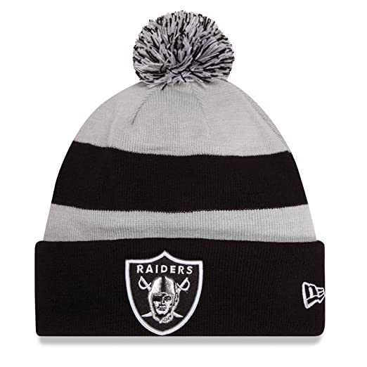 Amazon.com   Oakland Raiders New Era On Field Sport Knit Hat   Sports Fan  Beanies   Sports   Outdoors 3127468a5