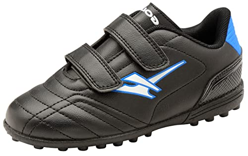 Footwear Studio - Botas de fútbol para niño negro negro: Amazon.es: Zapatos y complementos