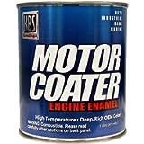 KBS Coatings 60307 White Motor Coater Engine Paint - 1 Pint