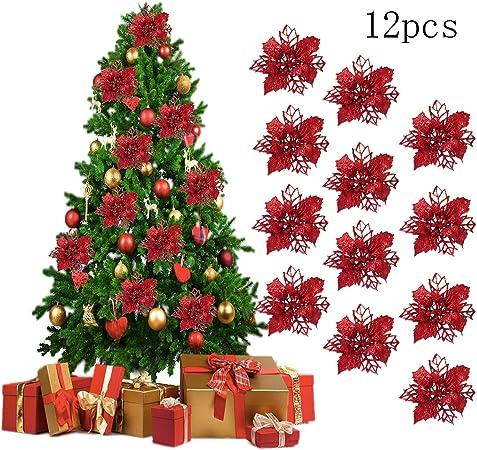 Ornement Sapin De Noel SHGDDYSB 12Pcs Decoration Noel Sapin,Ornement Sapin Noël Lot déco