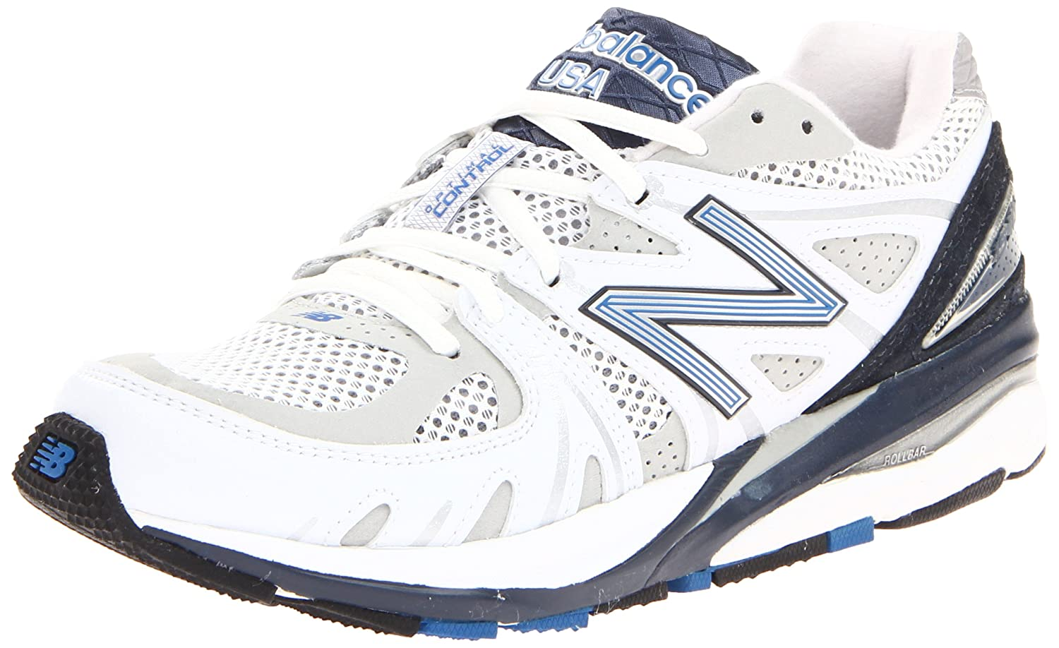 New Balance Men's M1540 Running Shoe B005BW5NJK 16 B - Narrow|White/navy