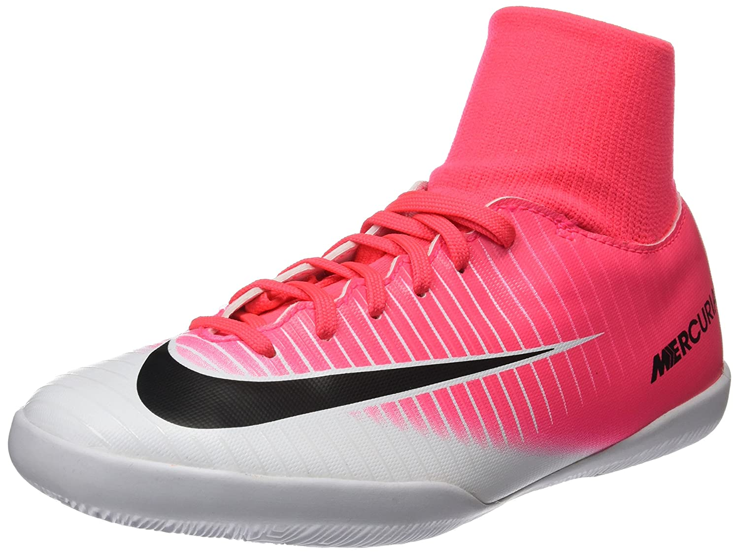 the best attitude 3217d 50661 Nike Youth MercurialX Victory VI DF Indoor Shoes  Racer Pink  (4Y)  Buy  Online at Low Prices in India - Amazon.in