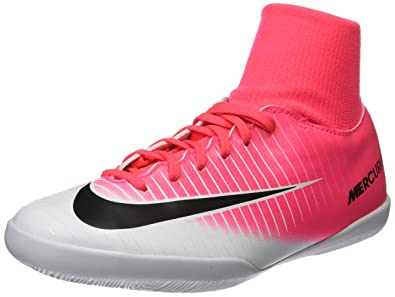 NIKE Youth MercurialX Victory VI DF Indoor Shoes [Racer Pink] (4.5Y)