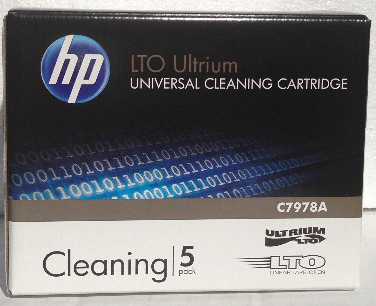5 Pack HP C7978A Universal LTO Ultrium Cleaning Cartridge (New) by HP
