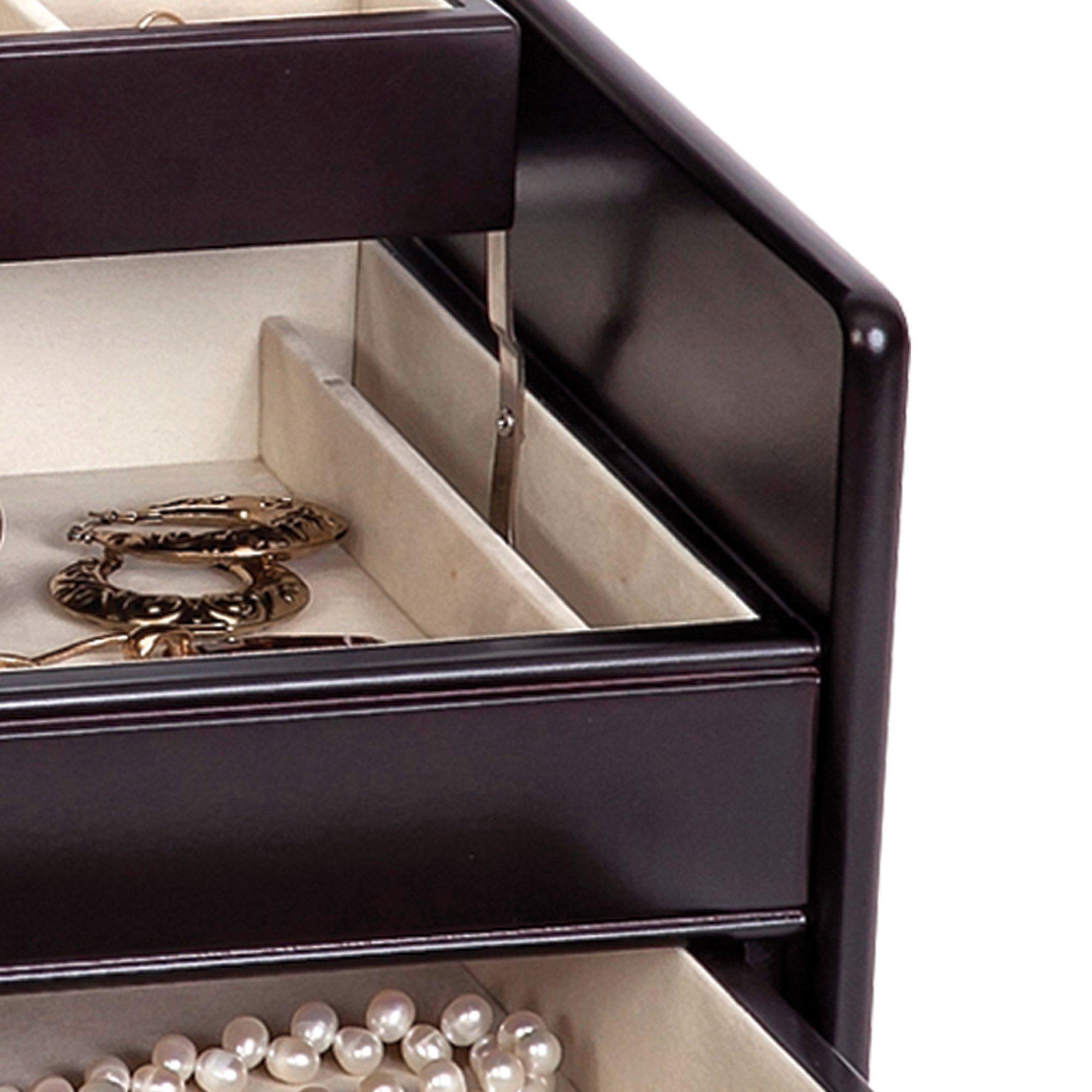 Mele & Co. Juliette Wooden Jewelry Box (Java Finish) by Mele & Co. (Image #7)