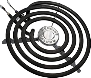 Supplying Demand WB30T10078 6 Inch Stove Top Element 4 Turns 240 Volts 1500 Watts Compatible With GE Fits AP5983743 WB30T10078