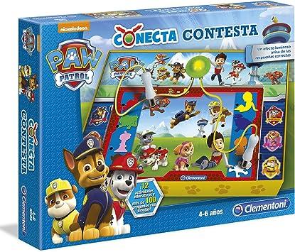 Patrulla Canina - Conecta contesta, Juego Educativo (Clementoni 550678): Amazon.es: Juguetes y juegos