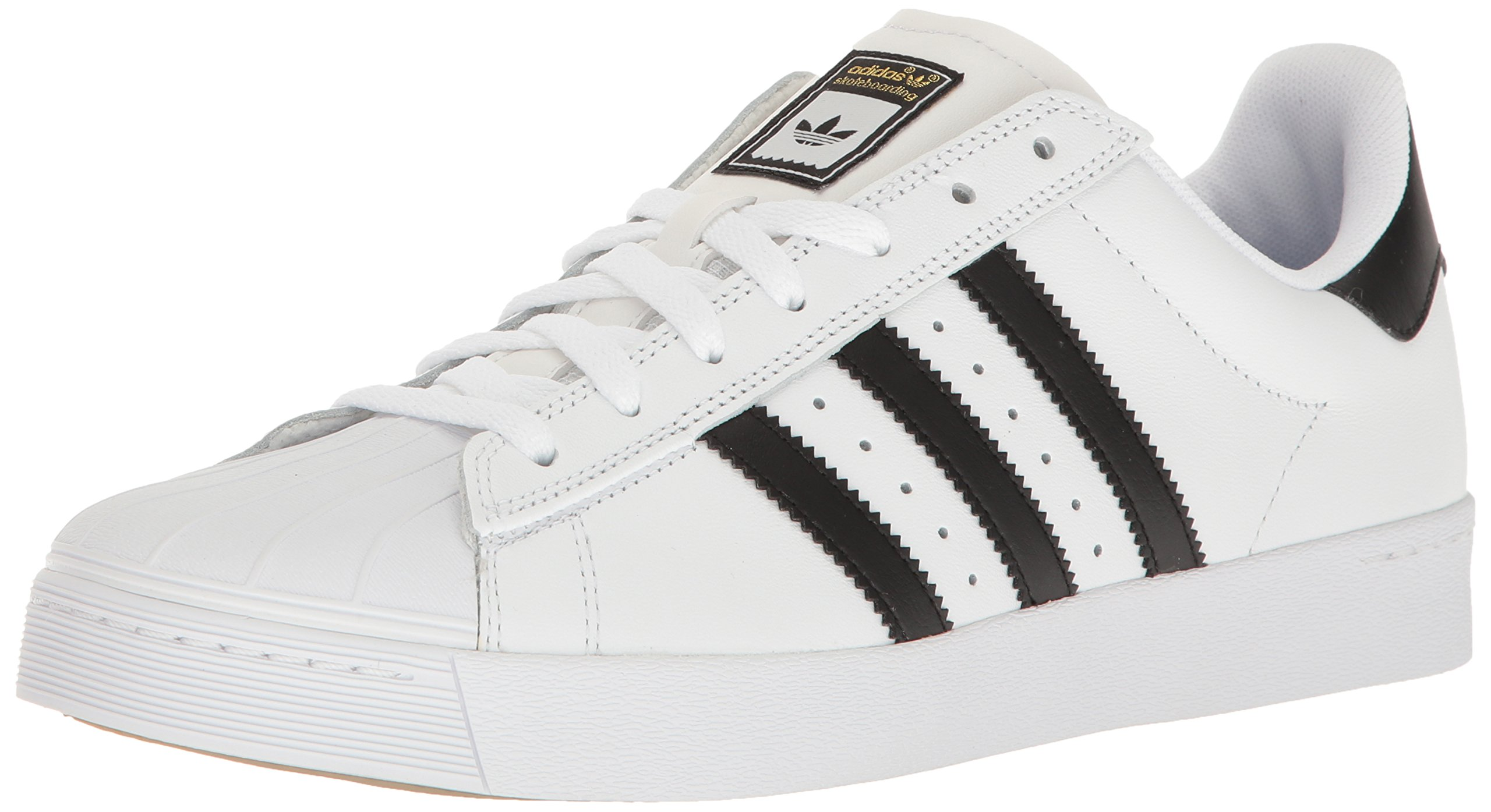adidas Originals Men's Shoes | Superstar Vulc Adv, White/Core Black/White, (9 M US)
