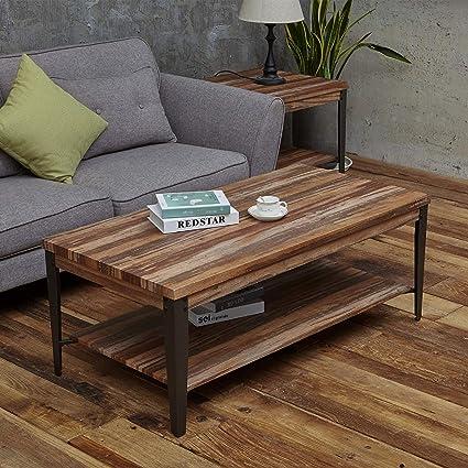 Prime Amazon Com Coffee Tables For Living Room Rustic Vintage Creativecarmelina Interior Chair Design Creativecarmelinacom