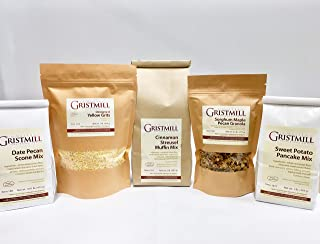 product image for Homestead Gristmill — Non-GMO, Chemical-Free, All-Natural Homestead Breakfast Variety Pack (With Yellow Grits)