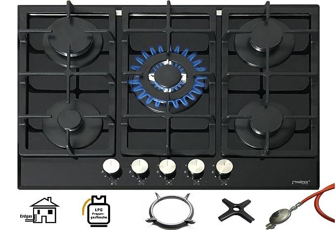 Phoenix Pg Di 901t Incasso Gas Piano Cottura Piano Cottura In Vetro