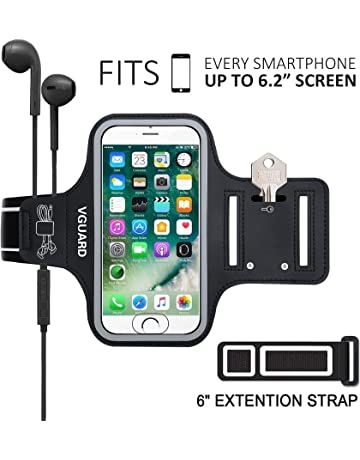 72be76b75bc VGUARD Brazalete Deportivo para 6.2 Pulgadas iPhone X/8 Plus/7 Plus [ID