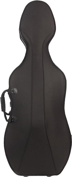 Estuche para Violonchelo Espuma 1/2 Negro - Beige M-Case: Amazon.es: Instrumentos musicales