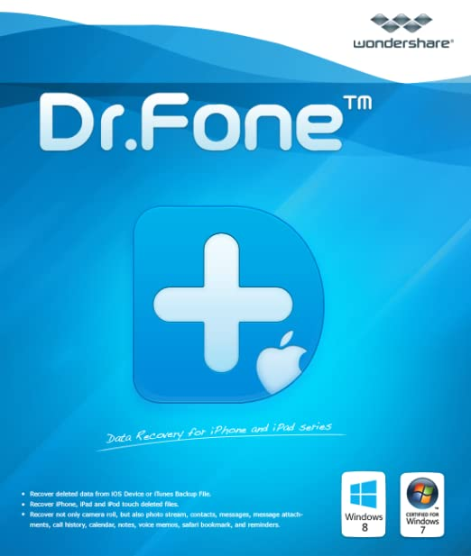 Wondershare Dr Fone for iOS[Download]: Amazon co uk: Software