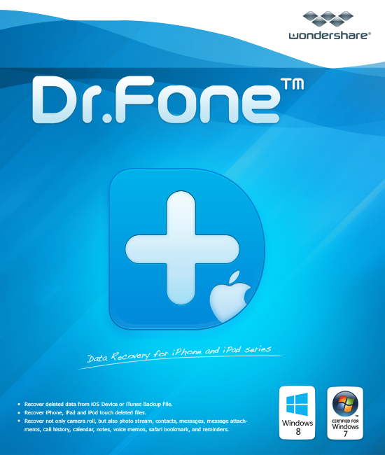 Wondershare Dr.Fone for iOS-Backup & Wiederherstellen von Whatsapp [Download]