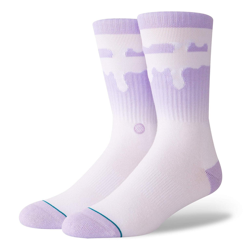 Stance Melt Down Socks Lavender Medium