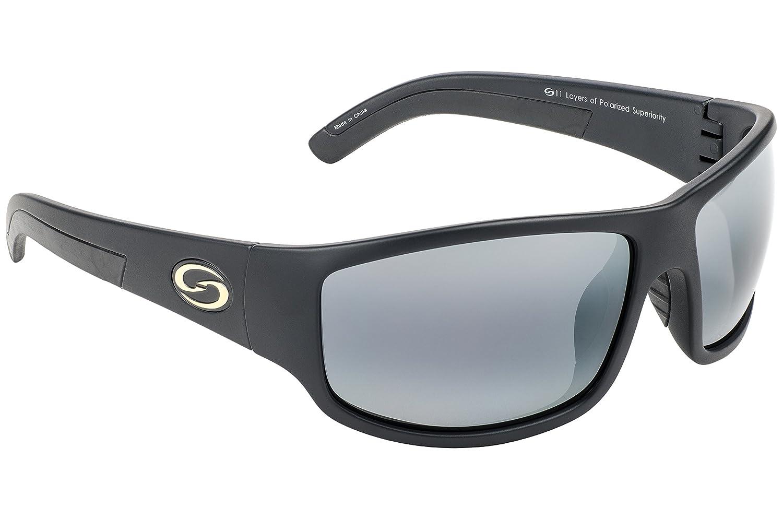 b565b82bfc Strike King S11 Optics Caddo Polarized Sunglasses with Matte Black Frames  and Gray Lenses