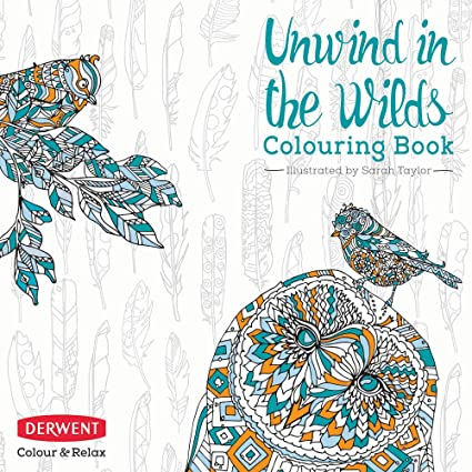 Adult Coloring Book Color And Relax