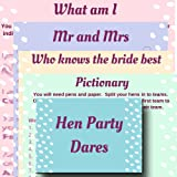 Hen Party Games Value Cards 5 Classy Mr Mrs