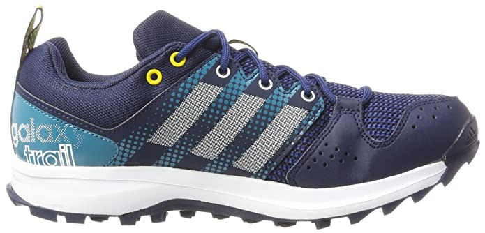 Amazon.com | adidas AW17 Mens Galaxy Trail Running Shoes - Blue/White/Aqua - UK 7 | Shoes