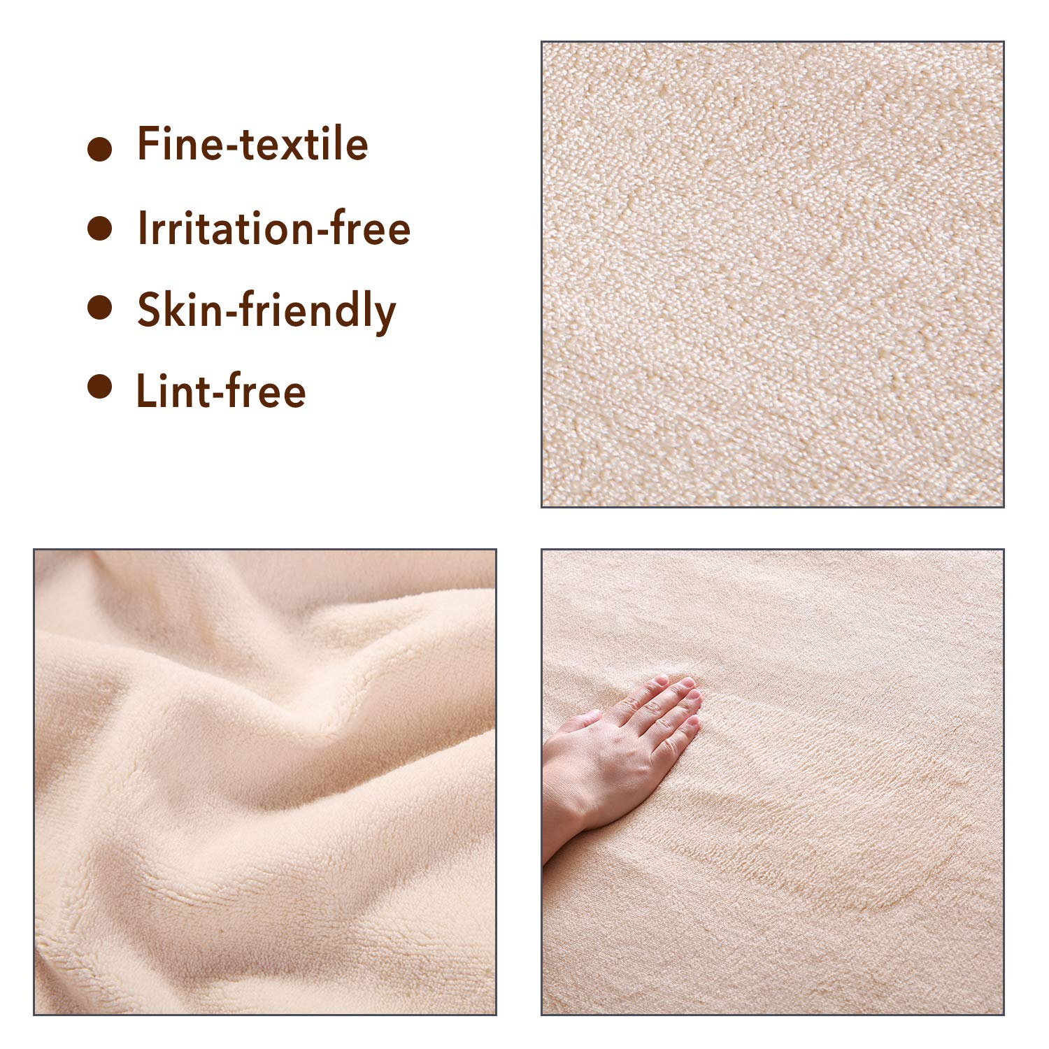 Warm /& Comfortable Relief Tense Muscle Home Use Heated Mattress Underblanket Soft Coral Velvet Fast Heating 10 Heat /& 9 Timer Settings Auto Off Twin Size ETL Certification Overheating Protection