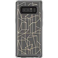 OtterBox Symmetry Series Clear Graphics Case for Samsung Galaxy Note8 Drop Me A Line (Clear/Drop Me A Line Graphic)