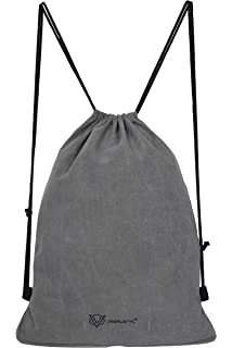 c394d079ad04 VERSATYL-Drawstring Bag Sports Backpack Gym Yoga Water Resistant Denim  Sackpack Shoulder Rucksack for Men