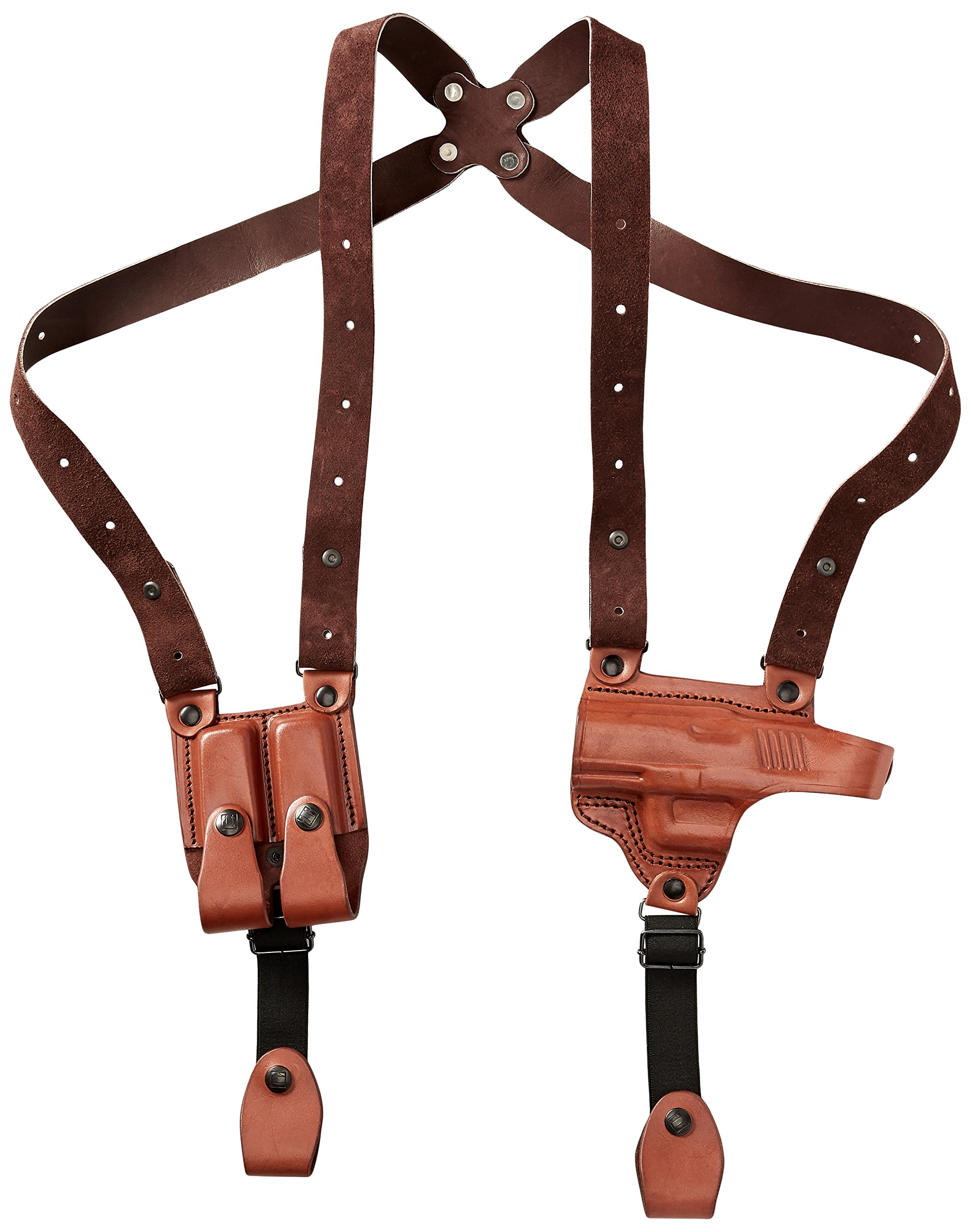 Tagua SH4-1028 Full Slide Shoulder Holster, Walther PK380, Brown, Left Hand by Tagua (Image #1)