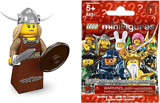 LEGO MINIFIGURES SERIE 4 THE VIKING COMPLETE
