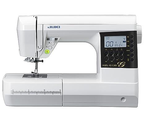 JUKI máquina de Coser electrónica, Metal, Blanco, 44,5 x 22,