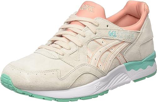 Asics H6R9L - Zapatillas de running mujer, Beige (Beige), 38 EU ...