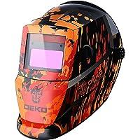 Solar Auto Darkening MIG MMA Electric Welding Mask/Helmet/Welding Lens for Welding Machine(Red)