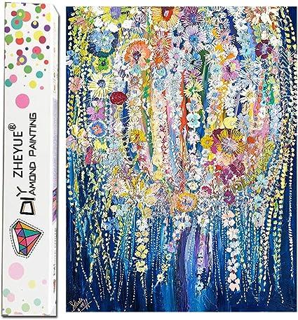 Kit de pintura de diamante 5D Naruto DIY completo redondo taladro diamante diamante diamante pintura kits para adultos y ni/ños artesan/ía decoraci/ón del hogar 30 x 45 cm