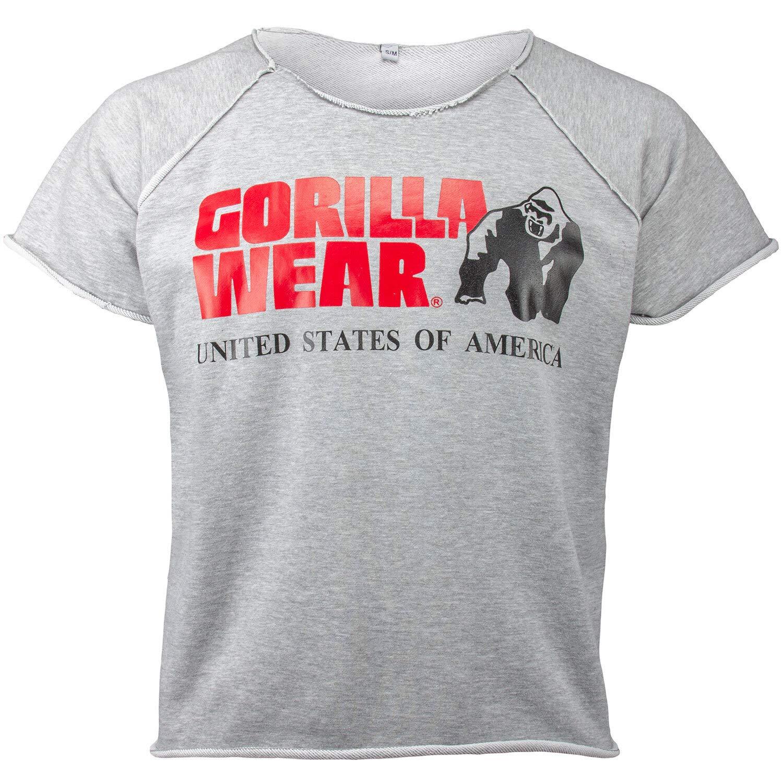 GORILLA WEAR Classic Work out Top per Bodybuilders Strongman e Fitness