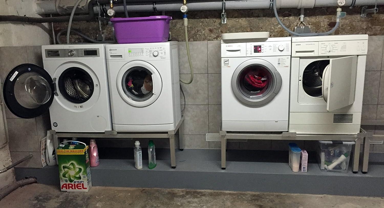 Waschmaschinen komfort untergestell mara verstärkte