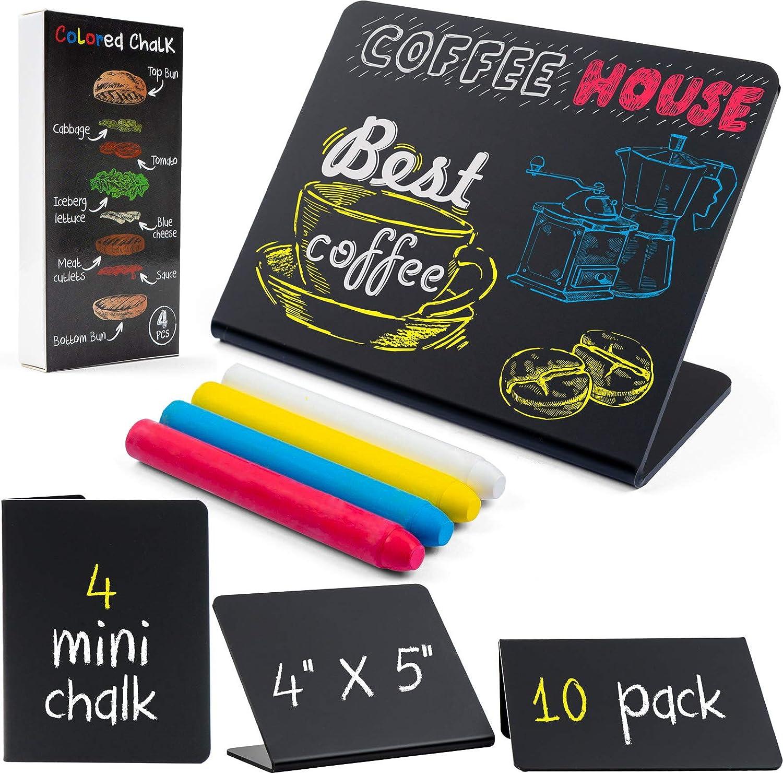 Mini Chalkboard Sign for Food Table - 10 Pcs 4