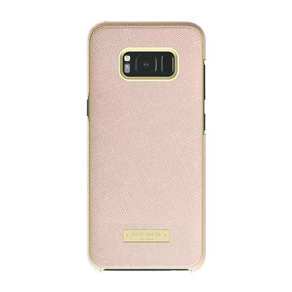 kate spade new york Wrap Case for Samsung Galaxy S8+ - Saffiano Rose Gold