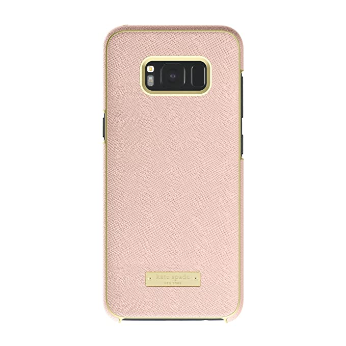 sale retailer 9d459 e666b kate spade new york Wrap Case for Samsung Galaxy S8+ - Saffiano Rose Gold