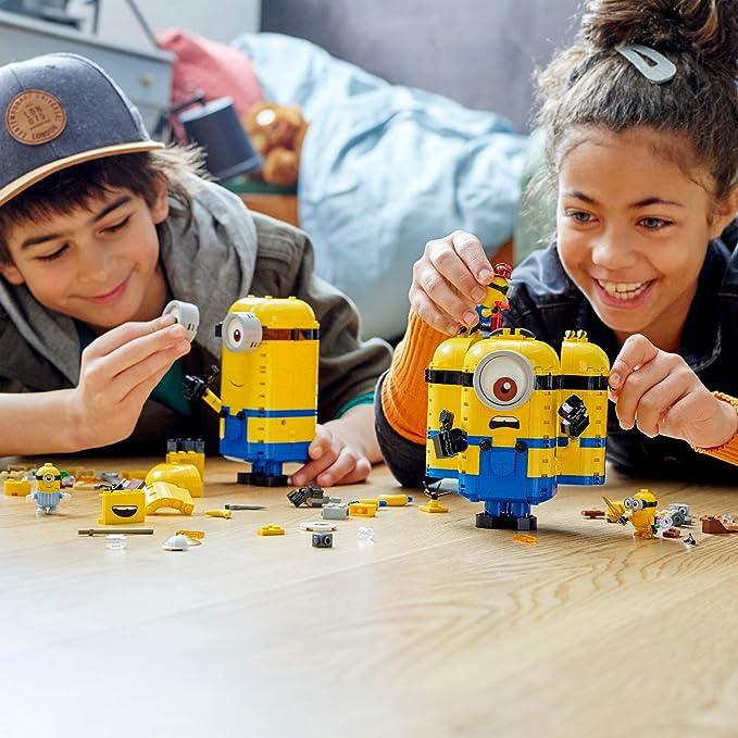 LEGO 乐高 小黄人系列 75551 玩变小黄人 积木玩具 9折$44.83 海淘转运到手约¥373