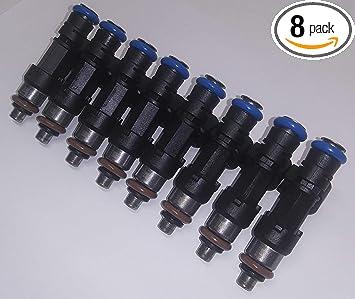 Siemens 30lb Fuel Injector Set NEW X 8