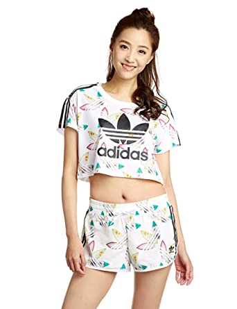 the latest f4556 6c91f adidas Originals Womens Womens Pharrell Williams Surf Crop T-Shirt in White  - 6  adidas Originals  Amazon.co.uk  Clothing