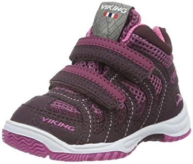 b70e9171168 Viking Unisex Kids' Cascade Ii Mid Low-Top Sneakers Purple Size ...