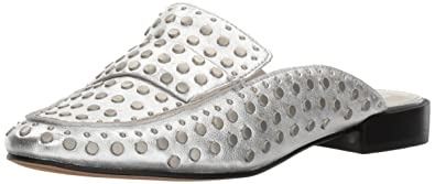 88fd89fcf96 Dolce Vita Women s Maura Mule Silver Leather 6 Medium US
