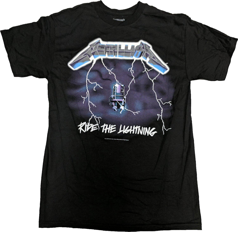 Metallica S Ride The Lightning Tshirt
