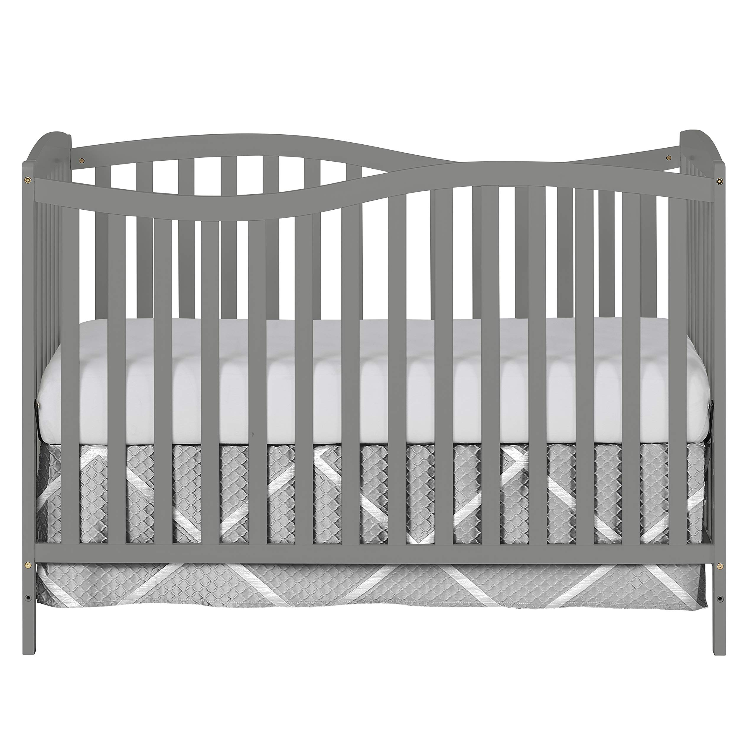 Dream On Me Chelsea 7-in-1 Convertible Crib, Storm Grey by Dream On Me
