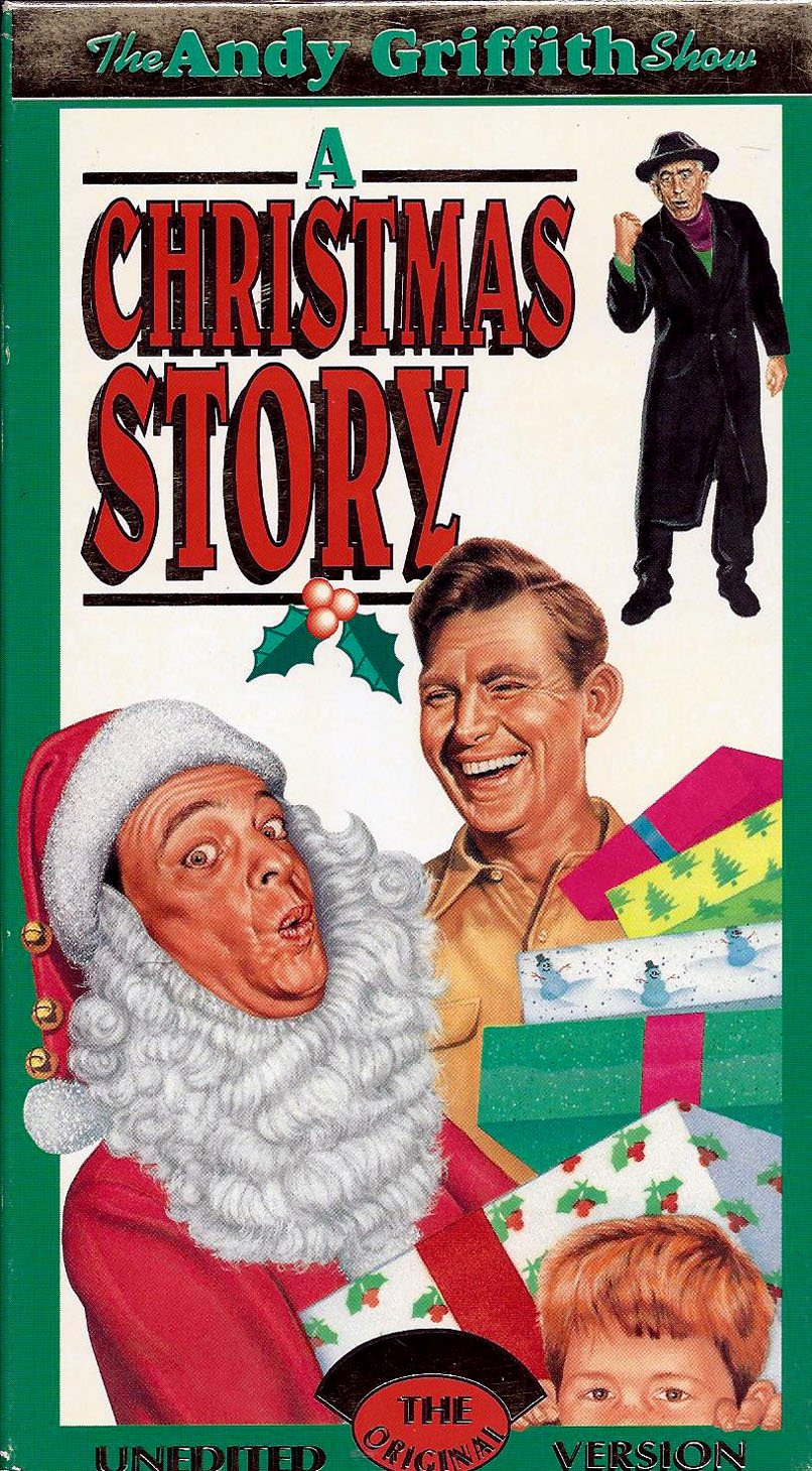 amazoncom the andy griffith show a christmas story vhs andy griffith ron howard don knotts frances bavier george lindsey howard mcnear - Andy Griffith Show Christmas Story