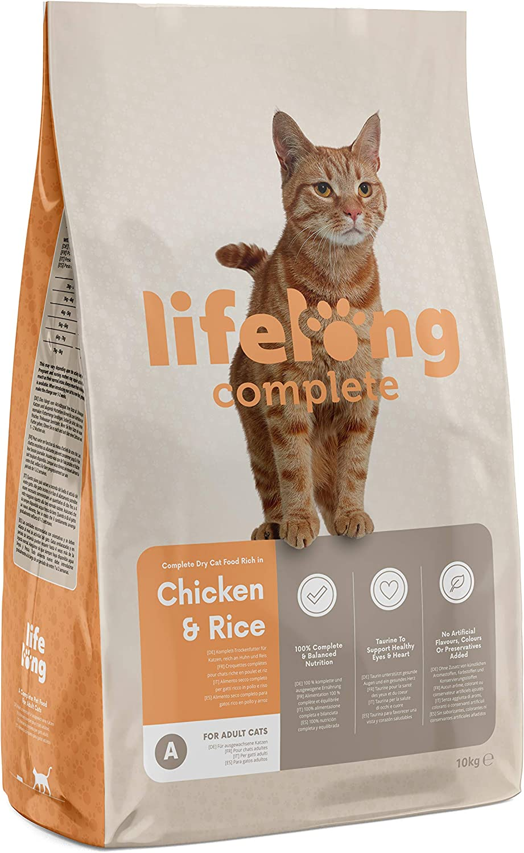 Marca Amazon - Lifelong Complete- Alimento seco completo para ...