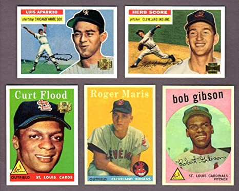 Topps Archives Rookie Reprint 5 Card Lot 1 Herb Score