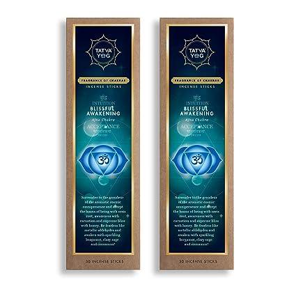 Tatvayog Wooden Blissful Awakening Incense Sticks (20 2 cm, 62 Grams
